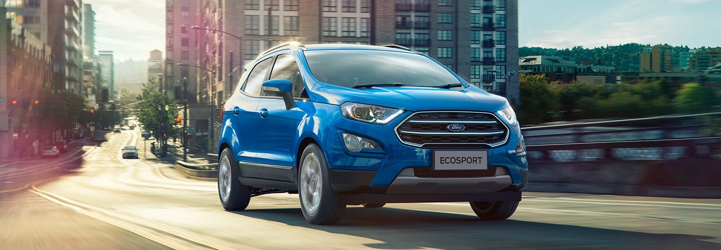 The Ford EcoSport Effciency