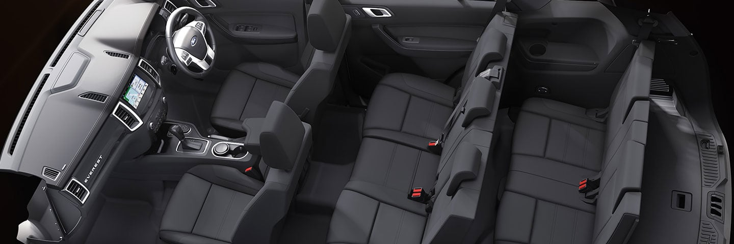 The Ford Everest Comfort