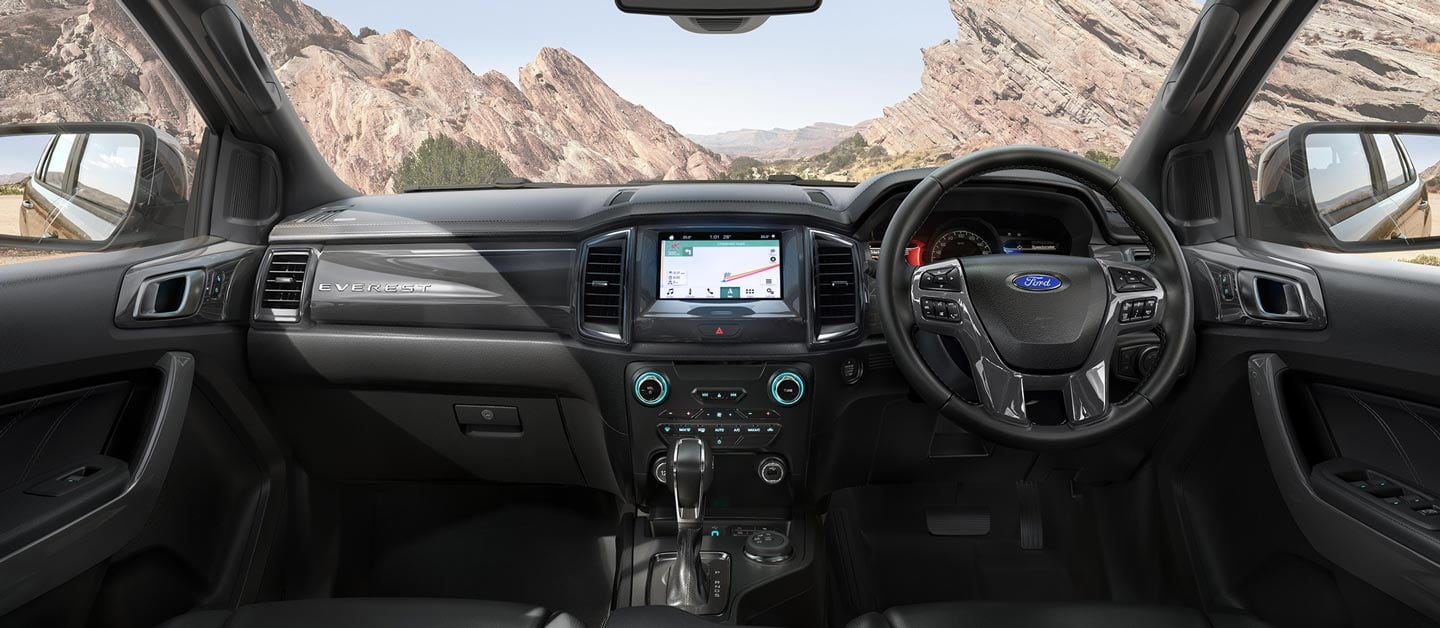 The Ford Everest Technology